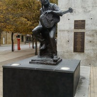 Photo taken at Willie Nelson Statue by Chloe N. on 12/16/2016