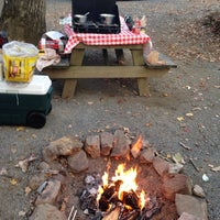 Photo taken at Linville Falls Campground by Diana C. on 10/24/2014