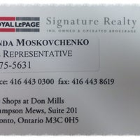 Photo taken at Royal LePage Signature Realty by Zolinda A. on 7/29/2013