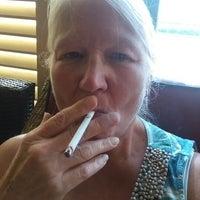 Photo taken at Graycliff Divans Cigar Lounge by Mickie M. on 7/28/2014