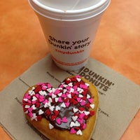 Photo taken at Dunkin Donuts by Becca M. on 1/28/2014