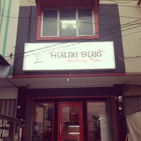 Photo taken at Healthy Beans by Tia K. on 9/27/2014