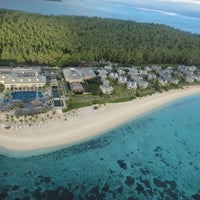 Photo taken at The St. Regis Mauritius Resort by Manitra R. on 7/19/2013