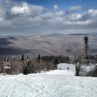 Photo taken at Hunter Mountain Ski Resort by Danny T. on 2/6/2013