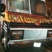 Photo taken at El Tonayense Taco Truck by 🖤GUCCI GG B. on 12/1/2012