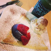 Photo taken at Crepe Cafe by Ju J. on 9/21/2013