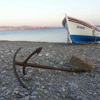 Photo taken at Akarca Sahili by Ender K. on 7/25/2013