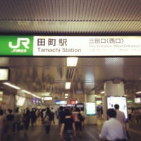 Photo taken at Tamachi Station by TUJDays on 7/8/2013