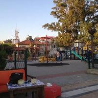 Photo taken at Çocuk Oyun Parkı by Fikriye T. on 8/4/2013