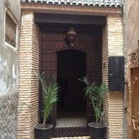 Photo taken at Riad Agdim by Xavier S. on 8/26/2013