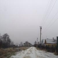 Photo taken at Роговицы by Polly K. on 1/2/2014
