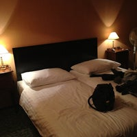 Photo taken at Hotel Angelis Prague by Виктория Ж. on 1/31/2014