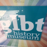 Photo taken at GLBT History Museum by Russ L. on 6/19/2016