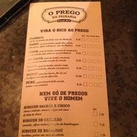 Photo taken at O Prego da Peixaria by Sarah P. on 11/13/2013