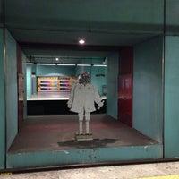 Photo taken at Metro Marquês de Pombal [AM,AZ] by Sarah P. on 6/1/2013