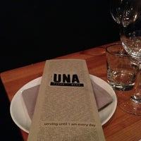 Photo taken at Una Pizza + Wine by Gavin H. on 11/4/2012