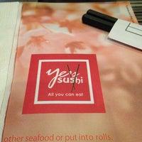 Photo taken at Ye's Sushi by sam g. on 11/8/2013