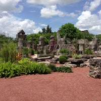 Photo taken at Coral Castle by Nara C. on 7/24/2013