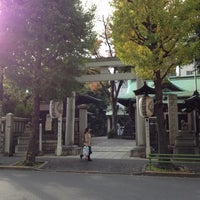 Photo taken at 鉄砲洲稲荷神社 by Takao M. on 11/8/2012
