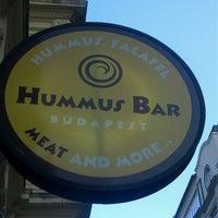 Photo taken at Hummus Bar by Tsiggara E. on 7/12/2013