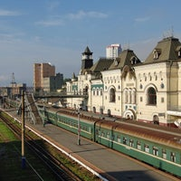 Photo taken at Vladivostok Railway Station by Россия сегодня on 7/24/2013