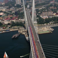 Photo taken at Vladivostok by Россия сегодня on 7/19/2013
