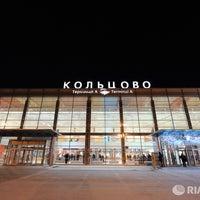 Снимок сделан в Международный аэропорт Кольцово (SVX) пользователем Россия сегодня 7/17/2013
