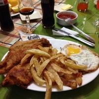 Photo taken at Restaurant Marisquería Marcoa by Matias U. on 10/8/2013