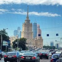 Снимок сделан в Marriott Novy Arbat пользователем Dима ш. 6/25/2015