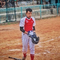 Photo taken at Lapangan Softball / Baseball Lodaya by Adhitya Nugraha P. on 3/9/2016