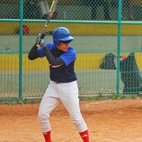 Photo taken at Lapangan Softball / Baseball Lodaya by Adhitya Nugraha P. on 7/26/2016