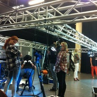 Photo taken at Helsinki Vocational College - Audiovisual Communications by Sofia L. on 8/28/2013