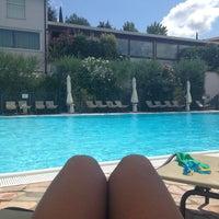 Photo taken at Residenza Fontanelle Hotel Ristorante by Elke T. on 8/6/2014