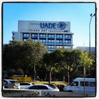 Photo taken at Universidad Argentina de la Empresa (UADE) by Cesar P. on 8/5/2013