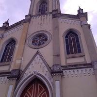 Photo taken at Igreja Santo Antônio by Talita S. on 5/14/2014