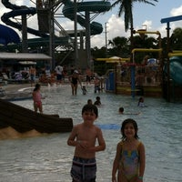 Photo taken at Sailfish Splash Waterpark by Jennifer M. on 7/11/2013