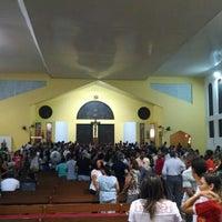 Photo taken at Paróquia São Thomaz de Cantuária by Willian P. on 6/9/2014