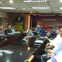 Photo taken at Jabatan Bomba dan Penyelamat Perak by Faisal N. on 1/21/2014