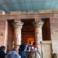 Foto tirada no(a) Temple of Dendur por Brandon B. em 1/3/2013
