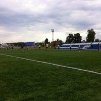 "Photo taken at Стадион ""Энергия"" by Maxim N. on 7/18/2013"