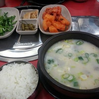 Photo taken at 한국밥N철판구이 by 지애 박. on 3/6/2014