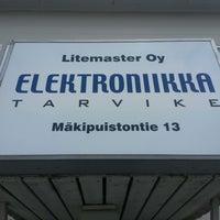 Photo taken at Litemaster Oy by Pekka R. on 7/16/2013