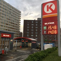 Photo taken at Circle K Bjerke by Bolek A G A. on 6/7/2017