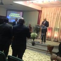 Photo taken at Christ Embassy Church by Miz O. on 7/28/2013