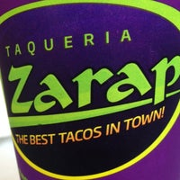 Photo taken at Taqueria El Zarape by Torrey H. on 7/12/2013