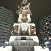 Photo taken at Praça da Independência by Ingomar L. on 8/10/2013