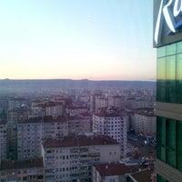 Photo taken at Radisson Blu Hotel, Kayseri by Alaattin D. on 4/4/2015