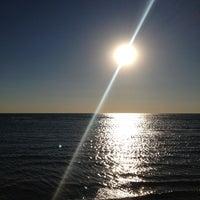 Photo taken at Clark Street Beach by Per J. on 10/11/2012