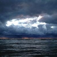 Photo taken at Clark Street Beach by Per J. on 9/13/2013