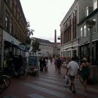 Photo taken at Downtown Kolding by Maks on 7/19/2013